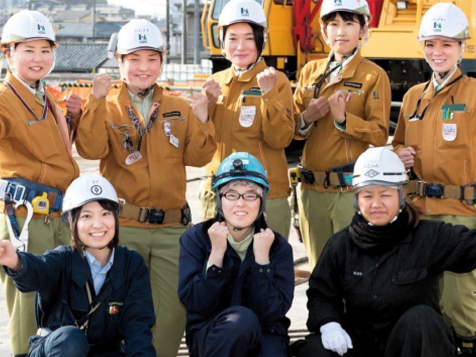 Women construction worker
